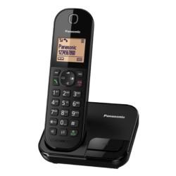 هاتف لاسلكي من باناسونيك (KX-TGC410UEB) - أسود