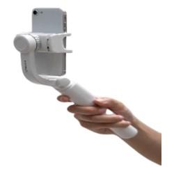 حامل الهاتف الذكي لسلفي ثابت مع ثلاث أرجل من موماكس - أبيض