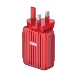 Zendure A-Series 4Port Wall Charger - Red