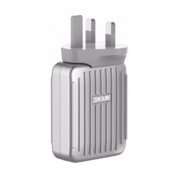 Zendure A-Series 4Port Wall Charger - Silver