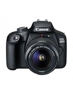 كاميرا كانون الرقمية إي أو إس ٤٠٠٠دي بدقة ١٨ ميجابكسل واي فاي مع عدسة ١٨ - ٥٥ ملم دي سي