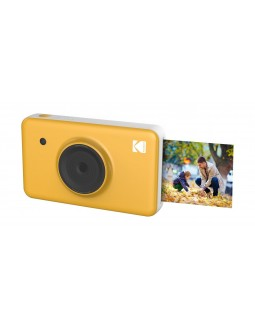 كاميرا التصوير الفوري اللاسلكية كوداك ميني - شوت ٢ × ١ + طابعة - أصفر
