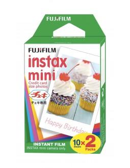 فيلم إنستاكس ميني للصور الفورية الملونة من فوجي فيلم - ١٠ أوراق x ٢ باقة
