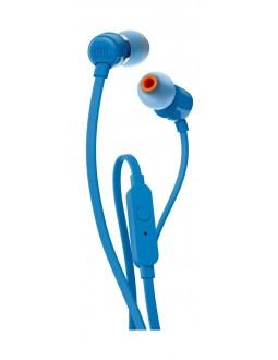 سماعة الأذن السلكية تي ١١٠ مع مايك من جاي بي إل - أزرق