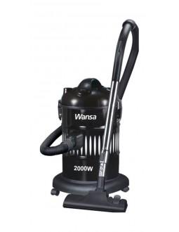 مكنسة كهربائية اسطوانية من ونسا – قوة ٢٠٠٠ واط – أسود (ZL14)
