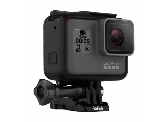 كاميرا الأكشن جو برو هيرو ٥ بشاشة لمس - دقة ١٢ ميجابكسل للصور / ٤كي للفيديو - واي فاي