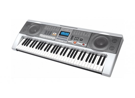 لوحة مفاتيح موسيقية من ونسا ٦١ مفتاح – فضي - (MK-805)