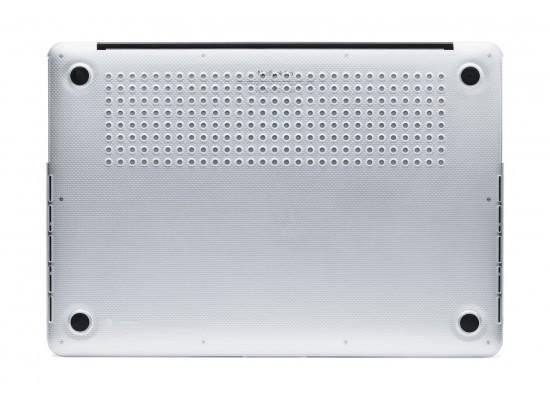 غطاء الحماية المقوى المنقط لماك بوك برو ريتنا ١٣.٣ بوصة من إن كيس – شفاف (CL60608)