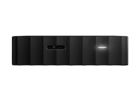 القرص الصلب الخارجي ماي باسبورت سعة ١ تيرا بايت ومنفذ يو إس بي ٣,٠ من ويسترن ديجيتال - أسود
