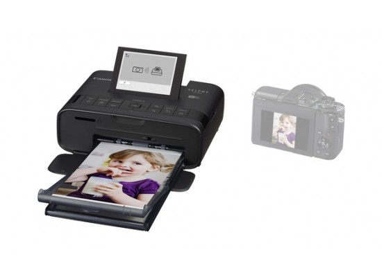 Canon SELPHY CP1300 Compact Photo Printer - Black