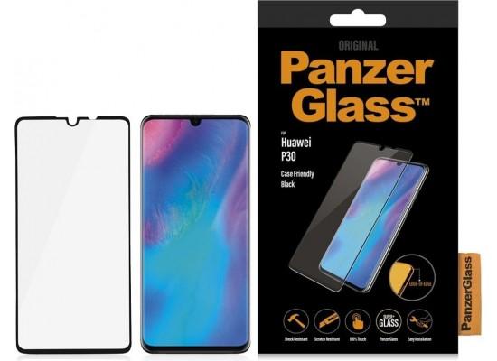 واقي الشاشة الزجاجي لهاتف هواوي بي٣٠ من بانزر (5334) - أسود