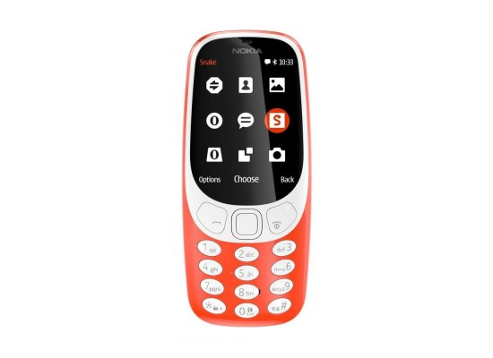 Nokia 3310 16MB Phone - Warm Red