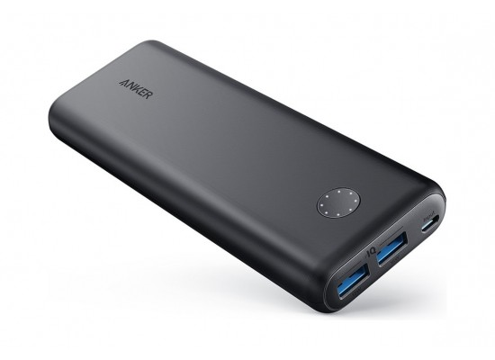 Anker PowerCore II 20000mAh Universal Portable Charger (A1260H11) - Black