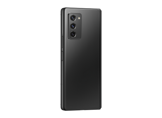 اطلب مسبقا: هاتف سامسونج جالاكسي مطوي 2 بسعة 256 جيجابايت وتقنية 5 جي - أسود