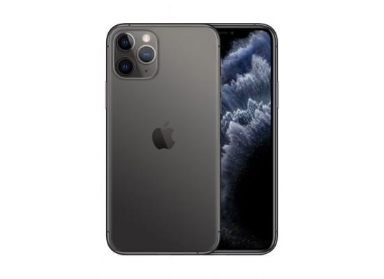 هاتف آيفون ١١ برو بسعة ٢٥٦ جيجابايت - رمادي