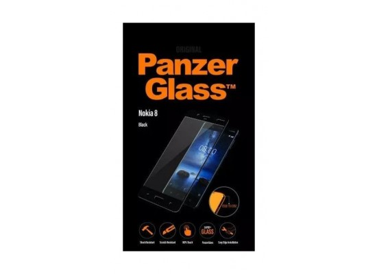 Panzer Glass Premium Screen Protector For Nokia 8 (6757) - Black