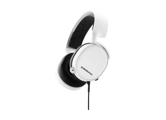 SteelSeries 3 2019 Edition Gaming Headset - White 1
