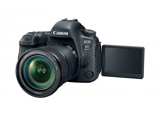 Canon EOS 6D كاميرا كانون إي أو إس ٦دي مارك ٢ الرقمية مع عدسة إي إف ٢٤-١٠٥ ملم آي إس - إس تي إمII with EF 24-105mm IS STM Lens - WiFi Enabled