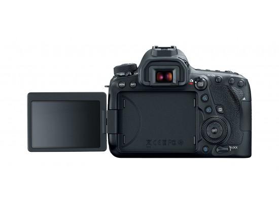 كاميرا كانون إي أو إس ٦دي مارك ٢ الرقمية مع عدسة إي إف ٢٤-١٠٥ ملم آي إس - إس تي إم