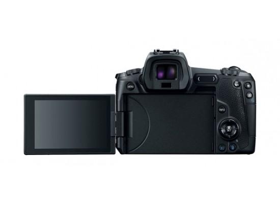 كاميرا كانون EOS R الرقمية بدون مرآة + موصل عدسة EU26