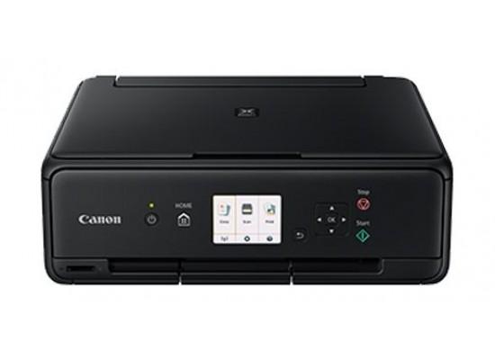 Canon TS5040 Pixma Inkjet 3-In-1 Wireless Colour Printer Black - Front