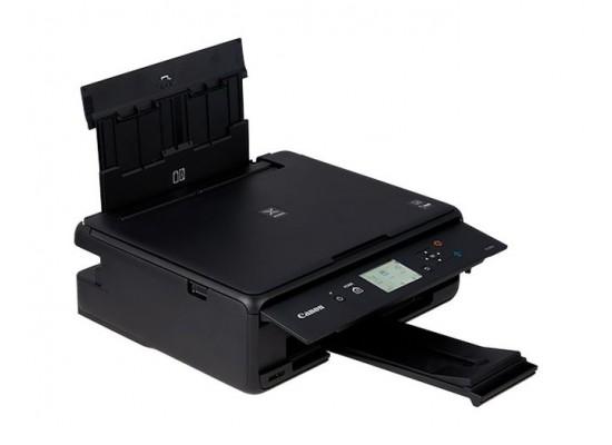 Canon TS5040 Pixma Inkjet 3-In-1 Wireless Colour Printer Black - Left View
