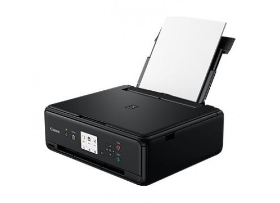 Canon TS5040 Pixma Inkjet 3-In-1 Wireless Colour Printer Black - Paper Feeding