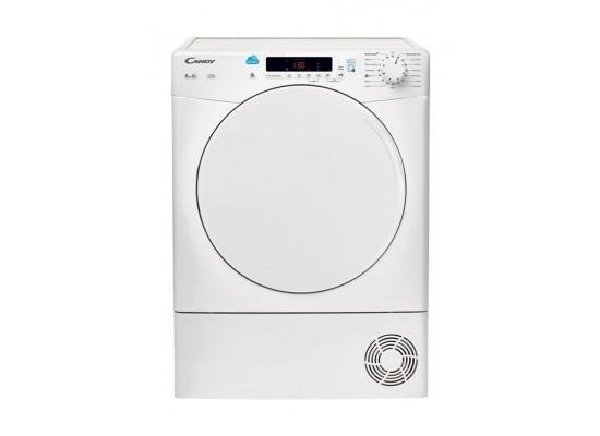 نشافة الملابس بالتكثيف سعة ٨ كيلو غرام من كاندي (CS C8DFZ-19) - أبيض