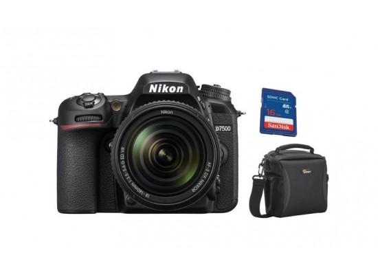 88be649b2 كاميرا نيكون الرقمية دي إس إل - دي ٧٥٠٠ مع بعد بؤري ١٨ - ١٤٠ ملم ...