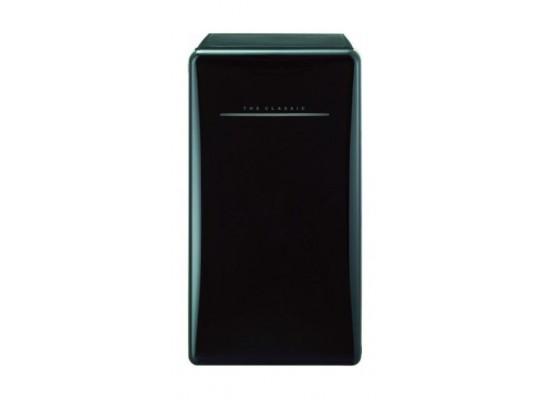 ثلاجة دايو كلاسيك ريترو ستايل - باب واحد - أسود (FN-153K)