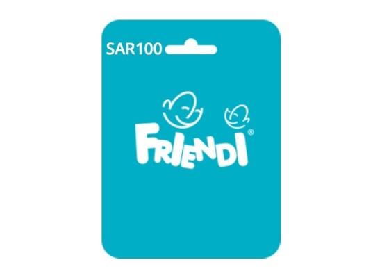 بطاقة فرندي أكوا - ١٠٠ ريال
