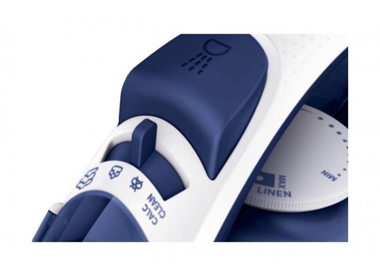 كواية البخار فيلبس بقوة ٢٠٠٠ واط مع قاعدة كي مانعة للالتصاق ومضادة للترسبات - أزرق (GC1432)