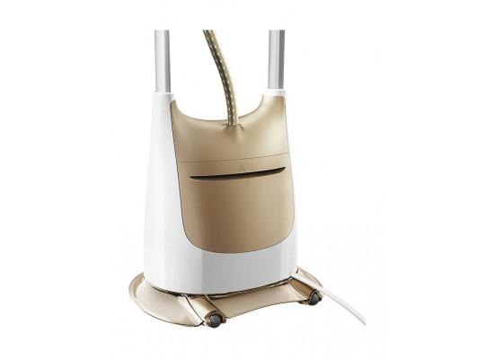كواية البخار العمودية برو تاتش ٢ في ١ مع طاولة الكي إرجوفيت من فيليبس – أبيض/ذهبي (GC618/66)
