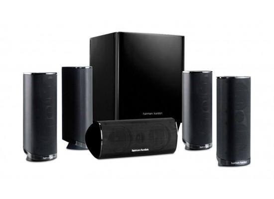 نظام مكبرات صوت للمسرح المنزلي توزيع ٥.١ قناة من هارمان كاردون -١٢٠ واط (HKTS16BQ)