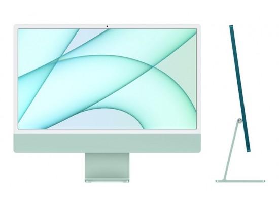 اطلب مسبقاً: ديسك توب الكل في واحد آي ماك معالج ام1 رام 8 جيجابايت، 256 اس اس دي، 24 بوصة شاشة ريتينا 4.5كي من آبل (2021) – أخضر