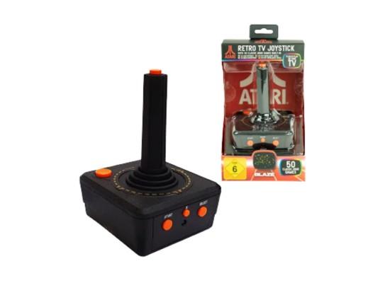 جهاز الألعاب أتاري ريترو تي في جويستيك مع ٥٠ لعبة مدمجة