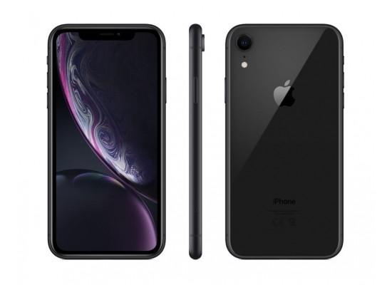 موبايل أبل أيفون إكس آر ١٢٨ جيجابايت - شريحة مدمجة - أسود