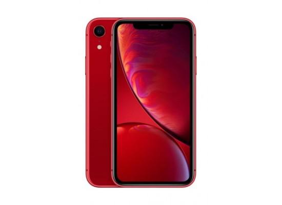 موبايل أبل أيفون إكس آر ١٢٨ جيجابايت - شريحة مدمجة - أحمر