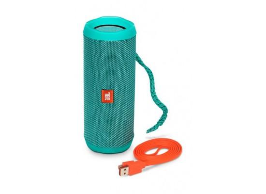 JBL Flip 4 Waterproof Bluetooth Portable Speakers (JBLFLIP4TEL) - Teal 3rd view