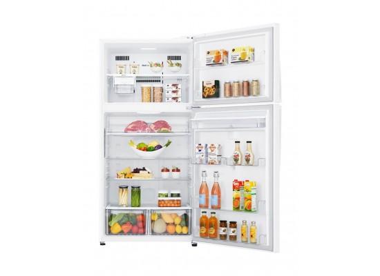 LG 16.77 Cu. Ft. Top Freezer Refrigerator - LT18CBBWLN g