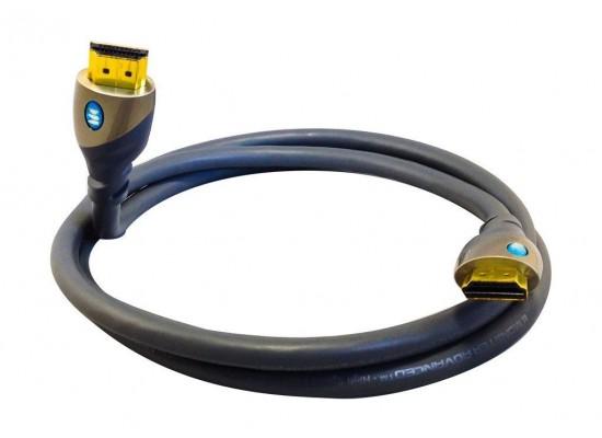 كابل اتش دي إم آي مانستر - عالي السرعة - ٢,٤ متر - فضي -  (MC700HDX)