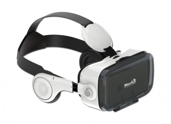 63253f83b نظارة الواقع الافتراضي | ثلاثية الابعاد | إميرسيف | مرلين | اكسايت ...