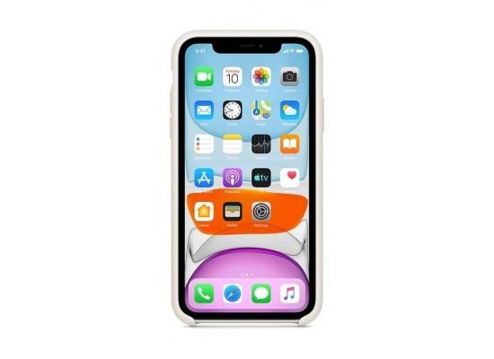 Apple iPhone 11 Silicone Case - White 2