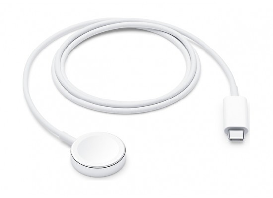 Apple Watch  1 Meter Magnetic Charger to USB-C Cable - White