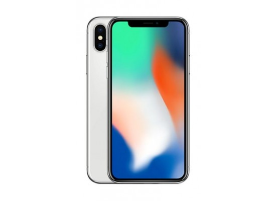 Apple iPhone X 64GB Phone - Silver