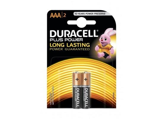 Duracell AAA Plus Power Battery - 2 Batteries
