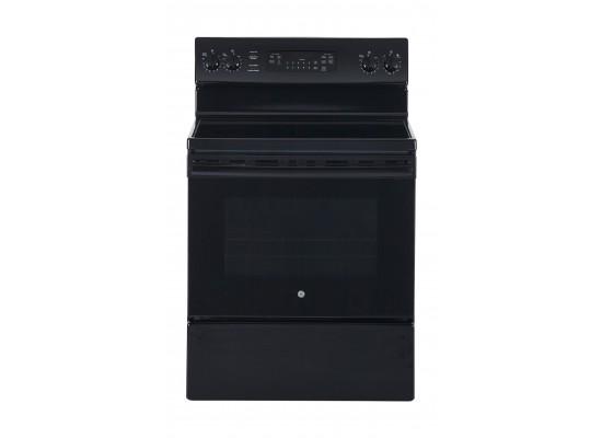 طباخ السيراميك الكهربائي جي إي ٧٦ x  ٦٥ سم (JCB735DILBB) - أسود
