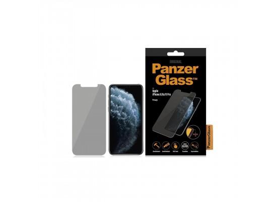 واقي شاشة مع فلتر الخصوصية لآيفون ١١ برو من بانزر جلاس - (P2661)