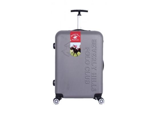 حقيبة السفر الصلبة - بولو كلوب بيفرلي هيلز - حجم وسط - رمادي