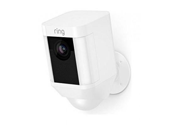Ring Spotlight Cam Battery - White